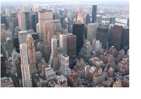 Blick auf die Skyline von New York. (Foto: David Fiedler)