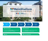 Screenshot von FAU MeinStudium.