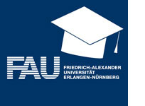 Das Logo der FAU Erlangen-Nürnberg.