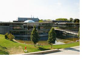 Der Campus der Uni Regensburg. (Foto: A. Weber)