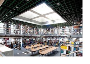 Eine Unibibliothek. (Foto: Martin Rehm)
