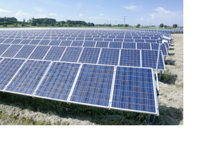 Photovoltaikanlagen. (Foto: Gerhard Blank)